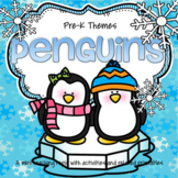 Penguins Math, Science and Literacy Activities and Centers