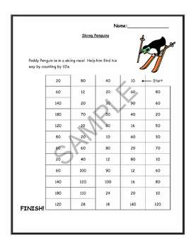 """""""Penguins"""" Math and Literacy Unit - Aligned with Common Core Standards"""