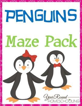 Penguins Maze Pack