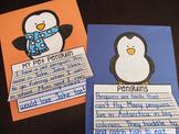 Penguins Writing Craft Activities