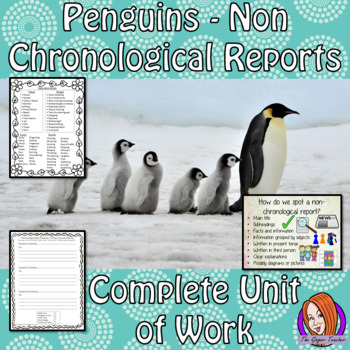 Penguins Non-Chronological Reports   -  Complete Unit of Work