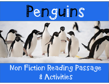 Penguins Non-Fiction Reading Passage