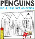 Penguins Nonfiction Facts Foldable Accordion
