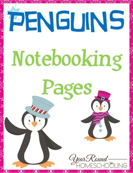 Penguins Notebooking Pages