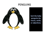 Penguins - Nouns, Verb, Adjectives