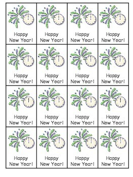 Happy New Year Roll, Say, Keep-editable