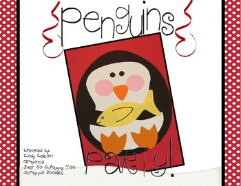 Penguins Party!  Math Packet and Craftivity