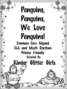Penguins, Penguins, We Love Penguins!