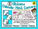 Penguins Please - Winter - Month of Math Centers & Calenda