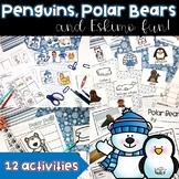 Penguins, Polar Animals and Eskimo Fun!  Math and Literacy Activities