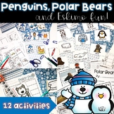 Penguins, Polar Animals and Eskimo Fun!  Math and Literacy Activities