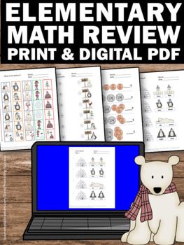 1st grade winter math worksheets penguins and polar bears activities. Black Bedroom Furniture Sets. Home Design Ideas