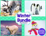 Penguins, Polar Bears, Reindeer, & Snowmen Reading Passages