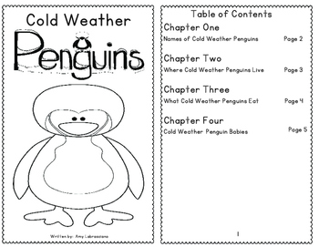 Penguins, Polar Bears, Reindeer, & Snowmen Reading Passages