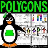 Polygons Sorting Activity, Anchor Charts, and Worksheets