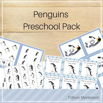 Penguins Preschool Pack