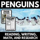 Penguin Unit   Penguin Activities   Math   Reading   Writing   Research