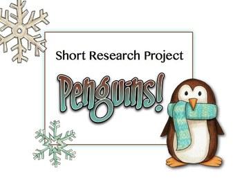 Penguins Short Research Project Non Fiction