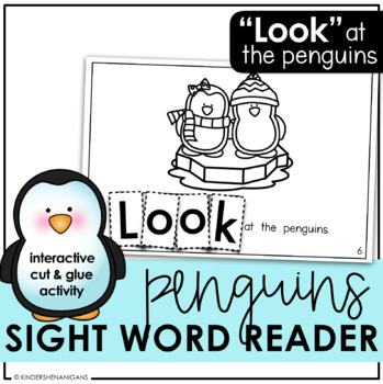 Penguins Sight Word Emergent Reader