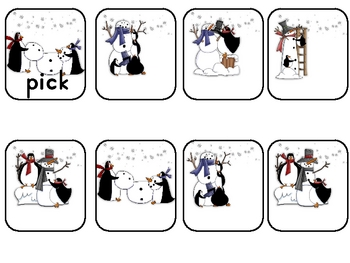 Penguins' Snow Day Fun 3rd Grade Sight Word Practice Game