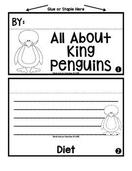 Penguins Staggered Booklets