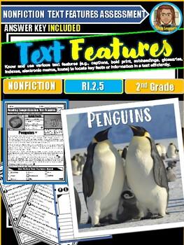Penguins Text Features Passages RI.2.5