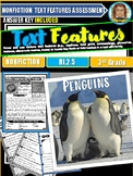 Penguins Text Features Passages RI.2.5 | Reading Comprehen