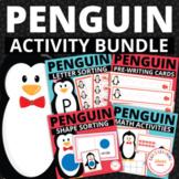 Penguin Activities Bundle | Penguin Math and Literacy Activities