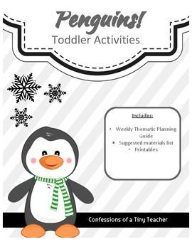 Penguins! {Toddler Activities}