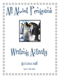 Penguins: Tree Chart, Writing Activity, and Craft