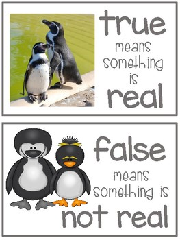 Penguins - True or False