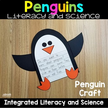 Penguins Arctic and Antarctic Nonfiction Unit