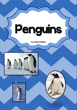 Penguins Unit - a non-fiction unit about penguins NO PREP