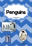 Penguins Unit - a non-fiction unit about penguins NO PREP