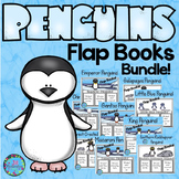 Penguins Writing! RESEARCH 9 KINDS OF PENGUINS (WRITING FLAP BOOKS)