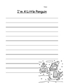 Penguins Writing Paper
