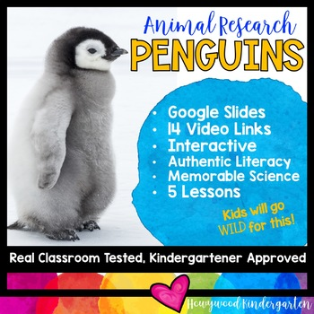 Penguins ...  Zoo Animal Research Mixed w/ Authentic Literacy Practice!