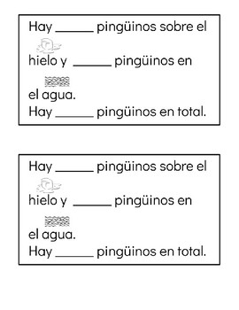 Penguins addition in Spanish