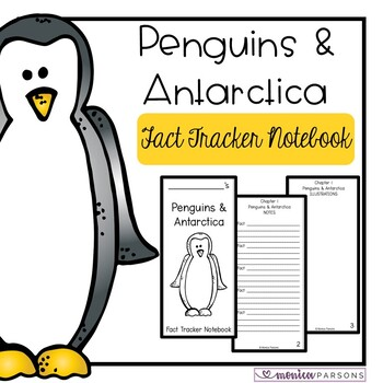 Penguins and Antarctica Fact Tracker Notebook (MTH Nonfict