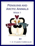 Penguins and Arctic Animals Lesson PLan - WK 1