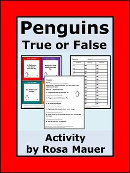 Penguins and Other Flightless Birds
