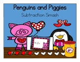 Penguins and Piggies - Subtraction Smash