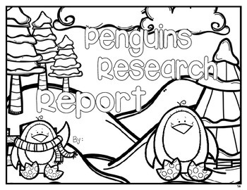 Penguins and Polar Bear Researh Project {Expository Writing}