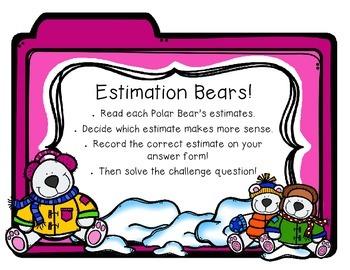 Penguins and Polar Bears! 4 Math Centers