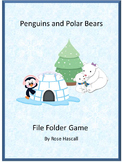 Penguins and Polar Bears Winter Special Education and Autism Resources