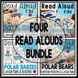 K-2 Winter Interactive Read Alouds: PENGUINS and POLAR BEARS