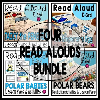 Penguins and Polar Bears Interactive Read Aloud Bundle