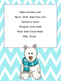 Penguins and Polar Bears Language arts activities