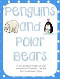 Penguins and Polar Bears:Nonfiction ELA/Math Mini Unit