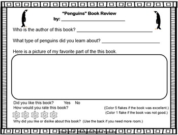 Penguins! by Gail Gibbons Literary Unit